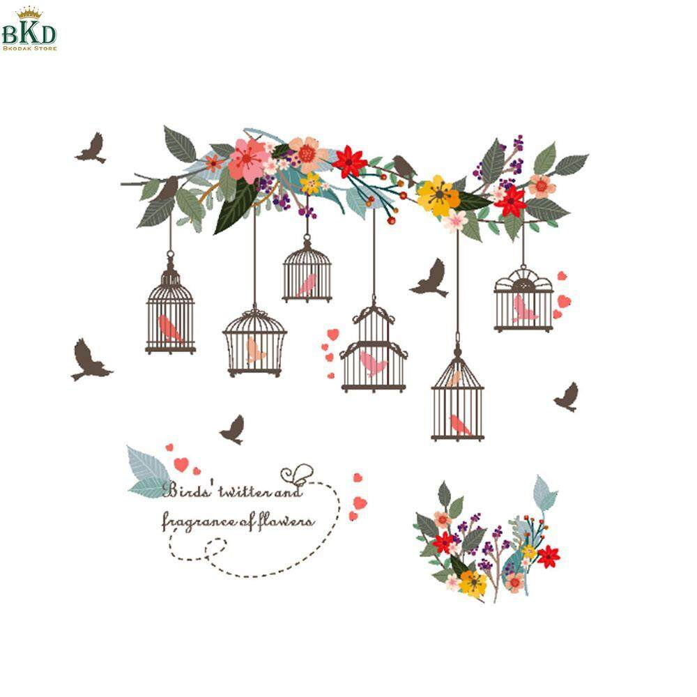 bokeda Store PVC Colorful Wall Decal Wallpaper Wall Stickers Contemporary