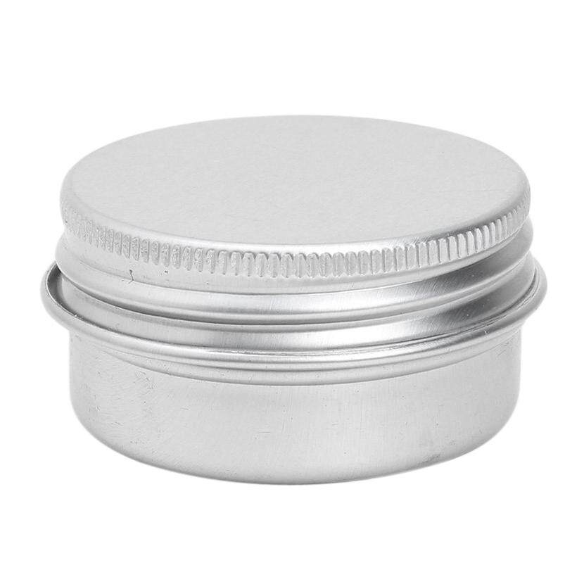 10PCS 100ml Aluminium Lip Balm Pots Makeup Cosmetic Cream Jar Pot Bottle Container