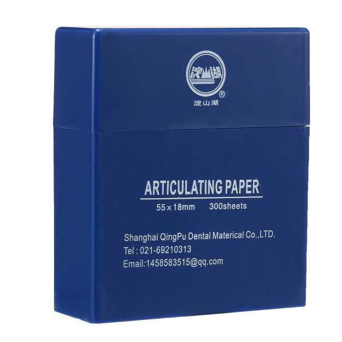 ... Dental Bausch Articulating Paper Double Sided Blue 300 Strips 200 Micron D8S6 ...
