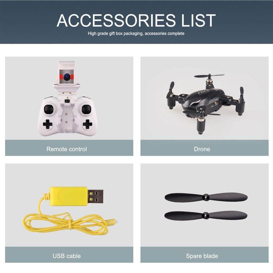 FCU X31C 30W 2.4Ghz Mini Folding WIFI Headless Mode Altitude Hold RC Quadcopter