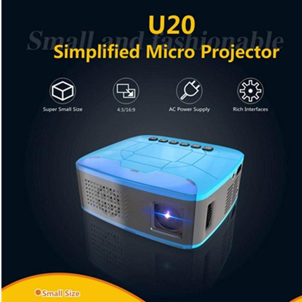 U20 Máy Chiếu LCD 500: 1 Nhà Máy Cân Bằng Laser 1 320x240 TRUYỀN HÌNH Conection Prejector