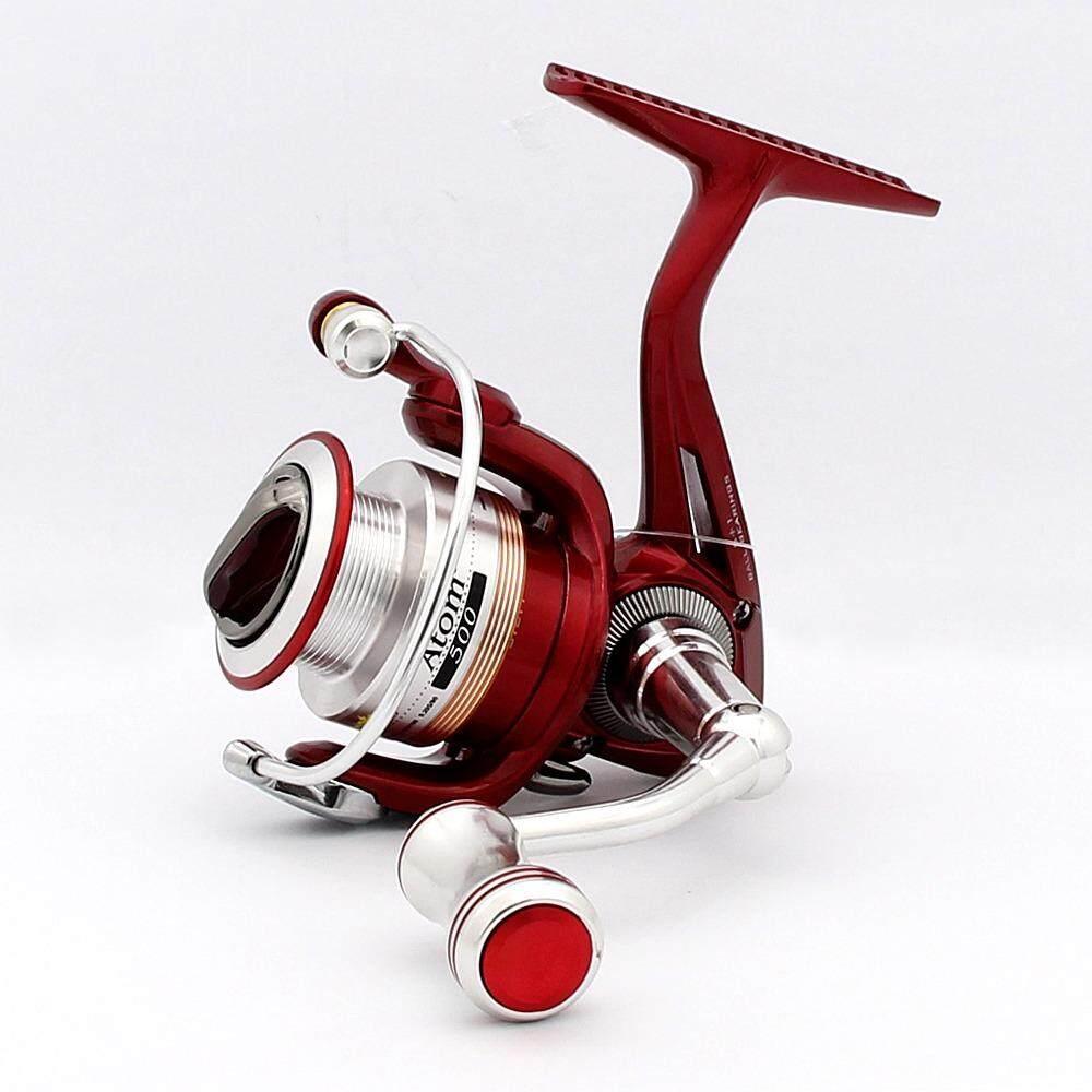 Ajiking Reel-Atom II 500 (Merah)-Intl