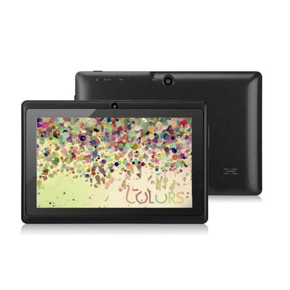 "7"" Q88 Single Core Android 4.0 Kids Tablets TF Card Bluetooth Android Tablet Black/White"