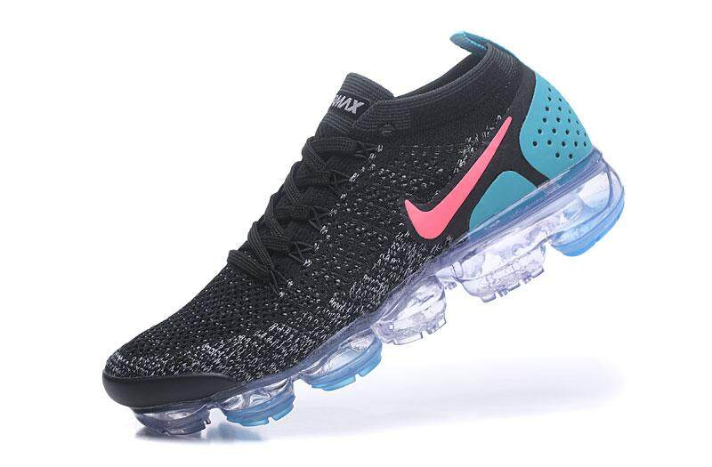 759e3fca6b9 Singapore. Nike Air VaporMax Flyknit 2 Men s Light Sport Sneakers  Breathable Casual Running Shoes (Black