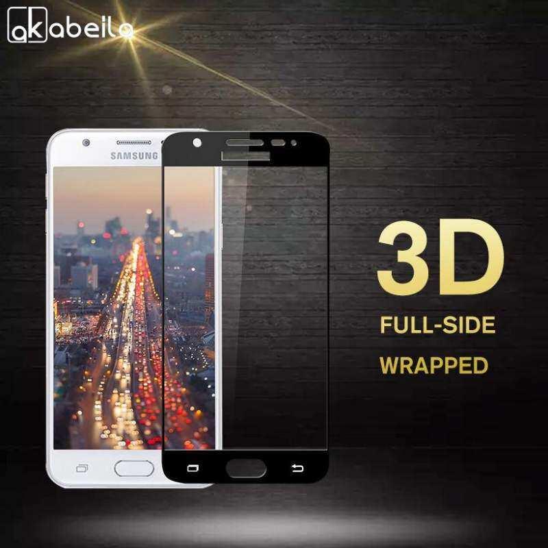 Zzooi Akabeila 2 Pcs Smartphone 3D Kaca Kokoh untuk Samsung Galaxy J5 Prime On5 2016 G570