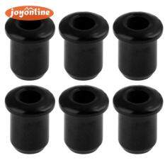 6pcs Metal String Mounting Ferrules Bushings for Electric Guitar Parts – intl