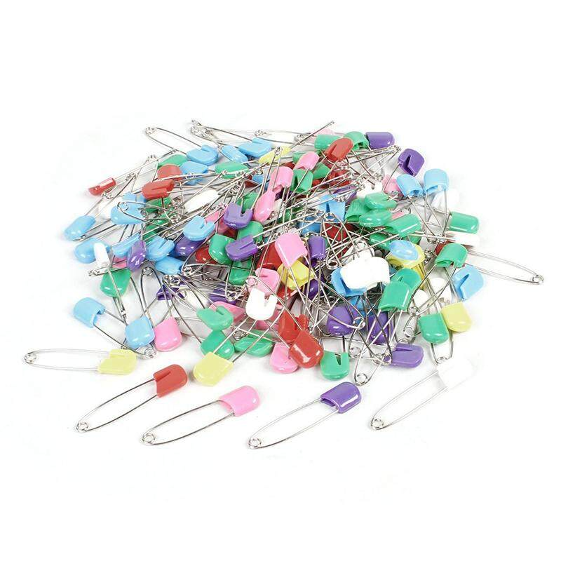 145 Pcs Plastic Locking Cloth Nappy Color Safety Assorted Pins