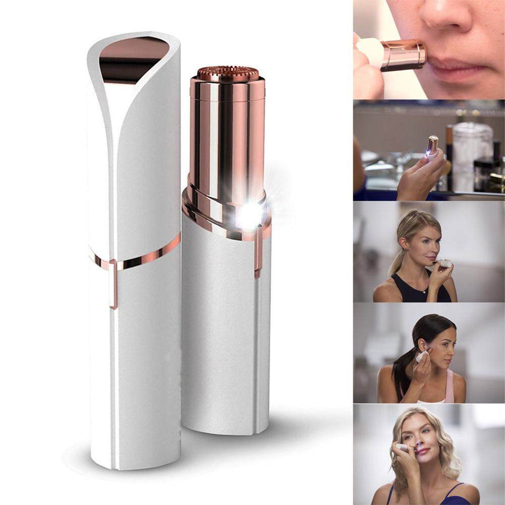 Lip Hair Removal Touch Flawless Women's Finishing Painless Face Chin Cheek Facial Mini Hair Remover Instantly No Pain Beauty