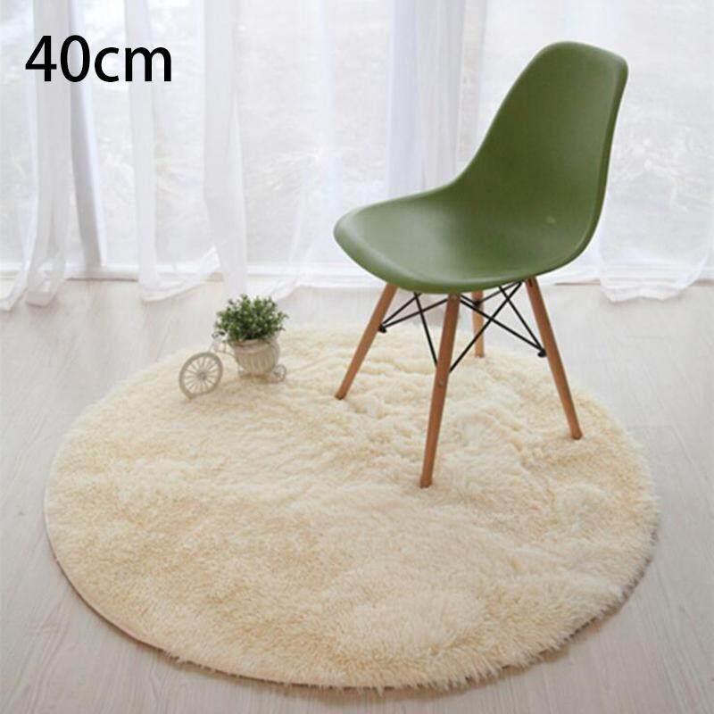 Aukey Storel Rugs Bedroom Room Stuffed Carpet Shaggy Area Rug Home Plush Round Floor Mat