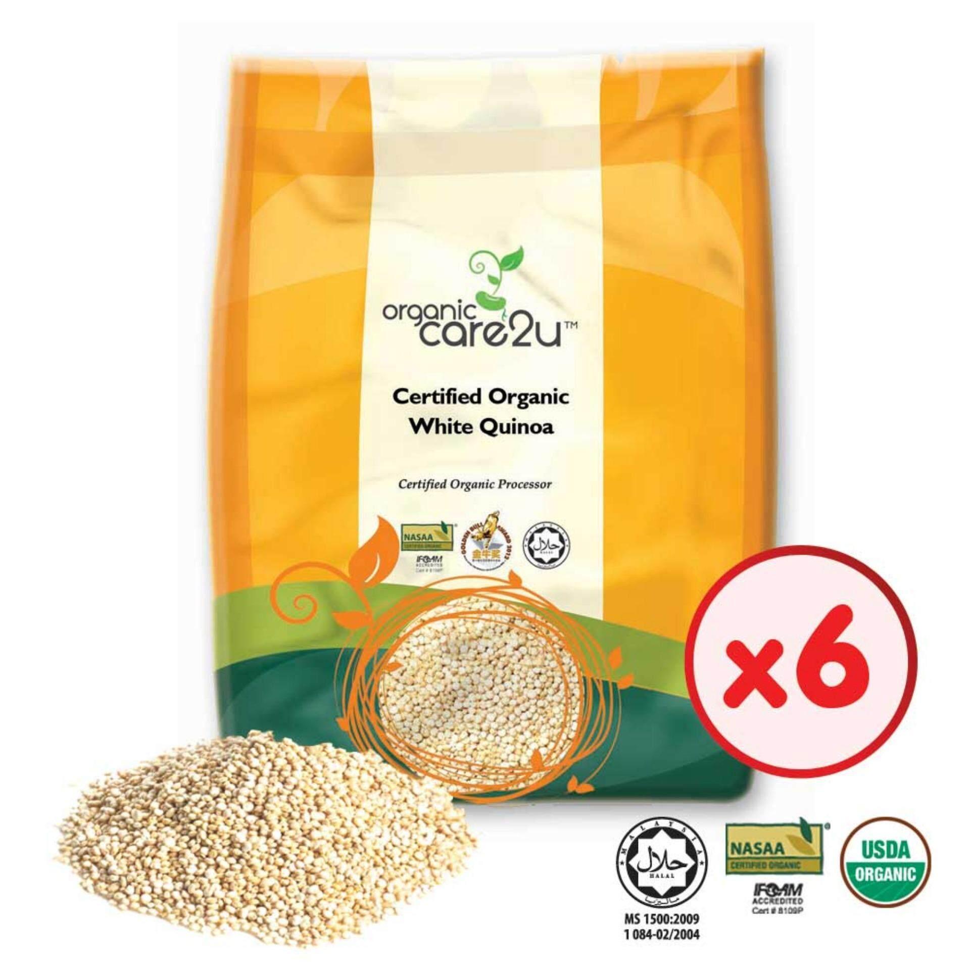 Organic Care2u Organic White Quinoa (400g) - [Bundle of 6]