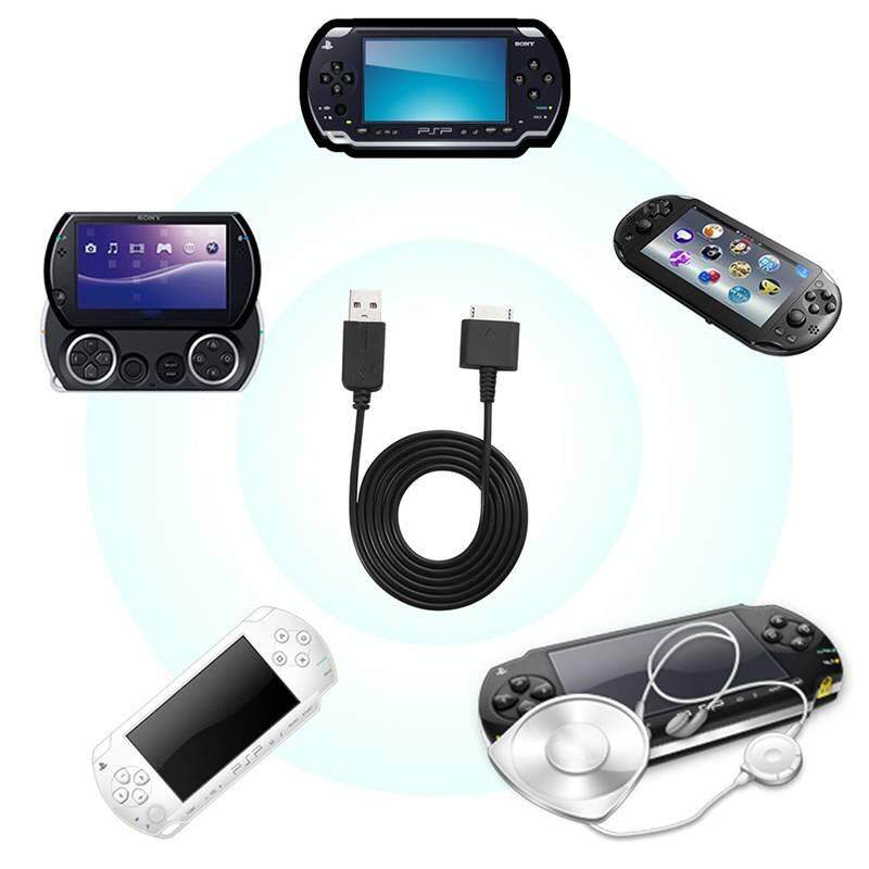 Watson 2 IN 1 USB Data Charge Cable Data Transfer Charging Cord Line For PSP GO - intl