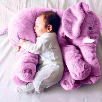 60CM Baby Kids Toddler Stuffed Elephant Plush Pillow Cushion Soft Nursery Toy Doll Best Girls Children Gifts