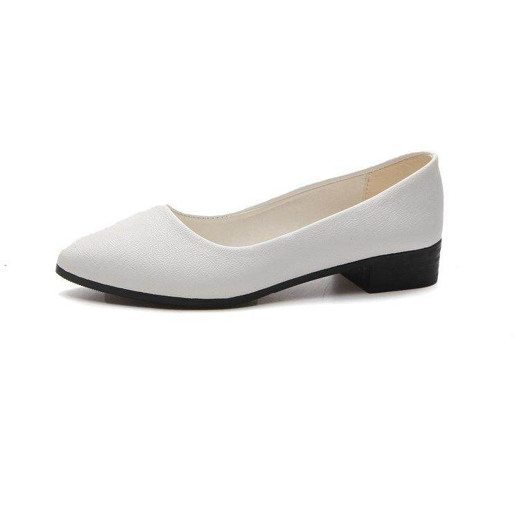 645e78c8e Ballet Flats White Lace Wedding Shoes Flat Heel Casual Shoes Pointed Toe  Women Wedding Princess Flats