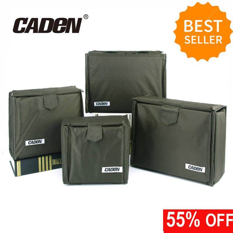 CADEN Foldable Shockproof Partition Padded Camera Bags SLR DSLR TLR Insert Protection Case For DSLR Shot Or Flash Light