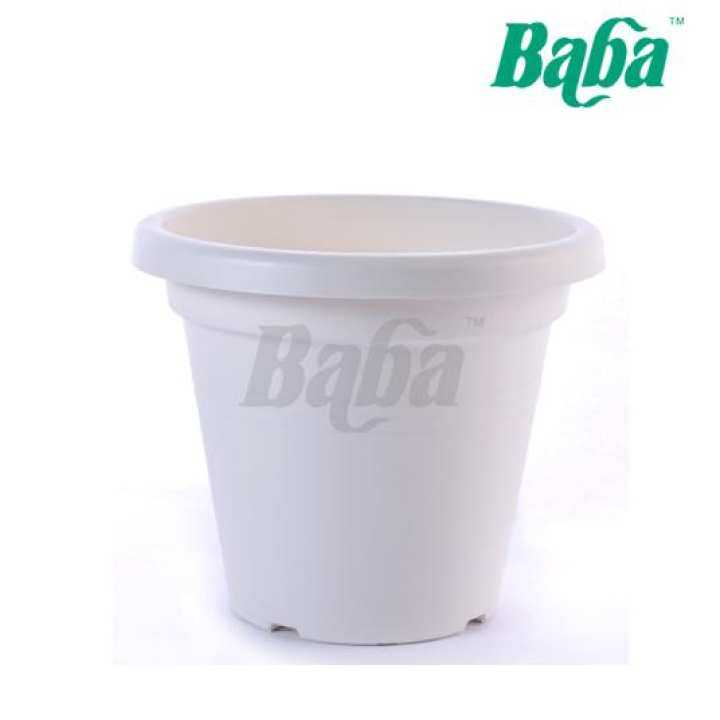Baba BI-TP-260 TP Series Grower Pot - For Indoor and Outdoor Plant [260mm x 260mm x 220mm]