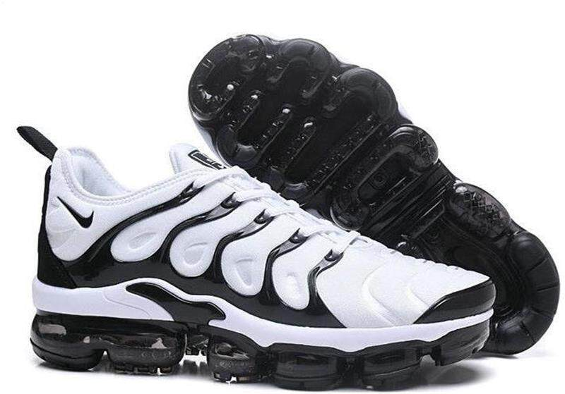 quality design 89f2f e5116 Popular Original Top Quality The Lastest Footwear Nike TN Air Maxs Plus  Black White Trainers Running