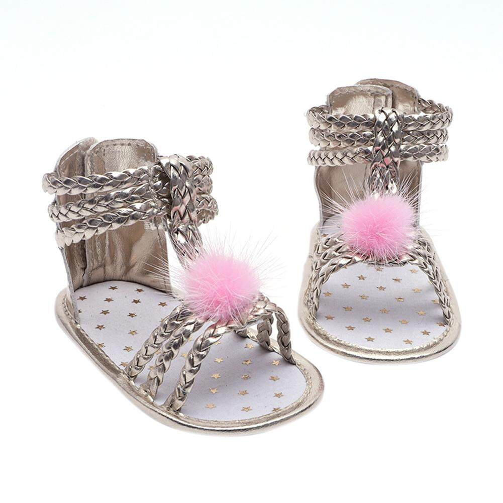 Starmall Baby Girls Sandals Leather Sole Infant Girls Sandals Summer Beach Clothes