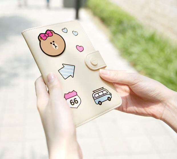 Line Friends Large Passport Case
