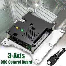 Bộ Phận Máy CNC 3 Trục Tự Làm Máy Khắc Laser Bảng Điều Khiển GRBL + Động Cơ Nhảy Cấp 3 PC