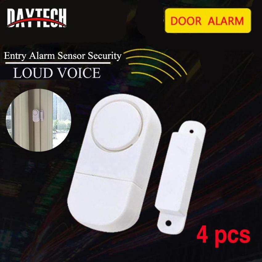 Easy Install 5 x Wireless Door//Window Entry//Burglar Home Security Sensor Alarm