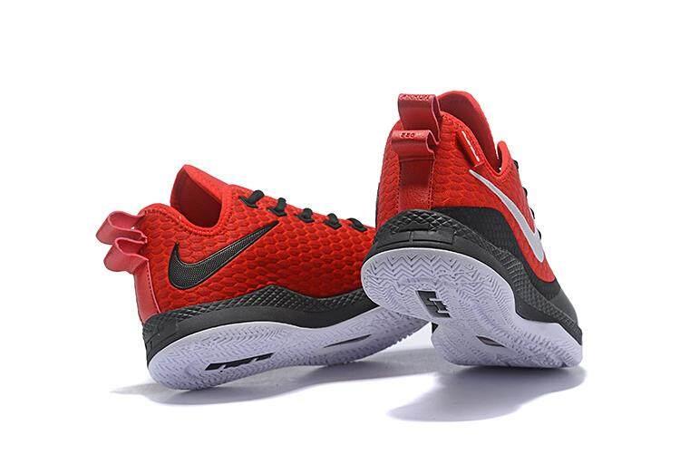 size 40 b8500 a158d Sports Brand Nik Original LeBron James Witness III 3 Low Top Men's  Basketaball Shoe LBJ ( Red Black ) Global Sales