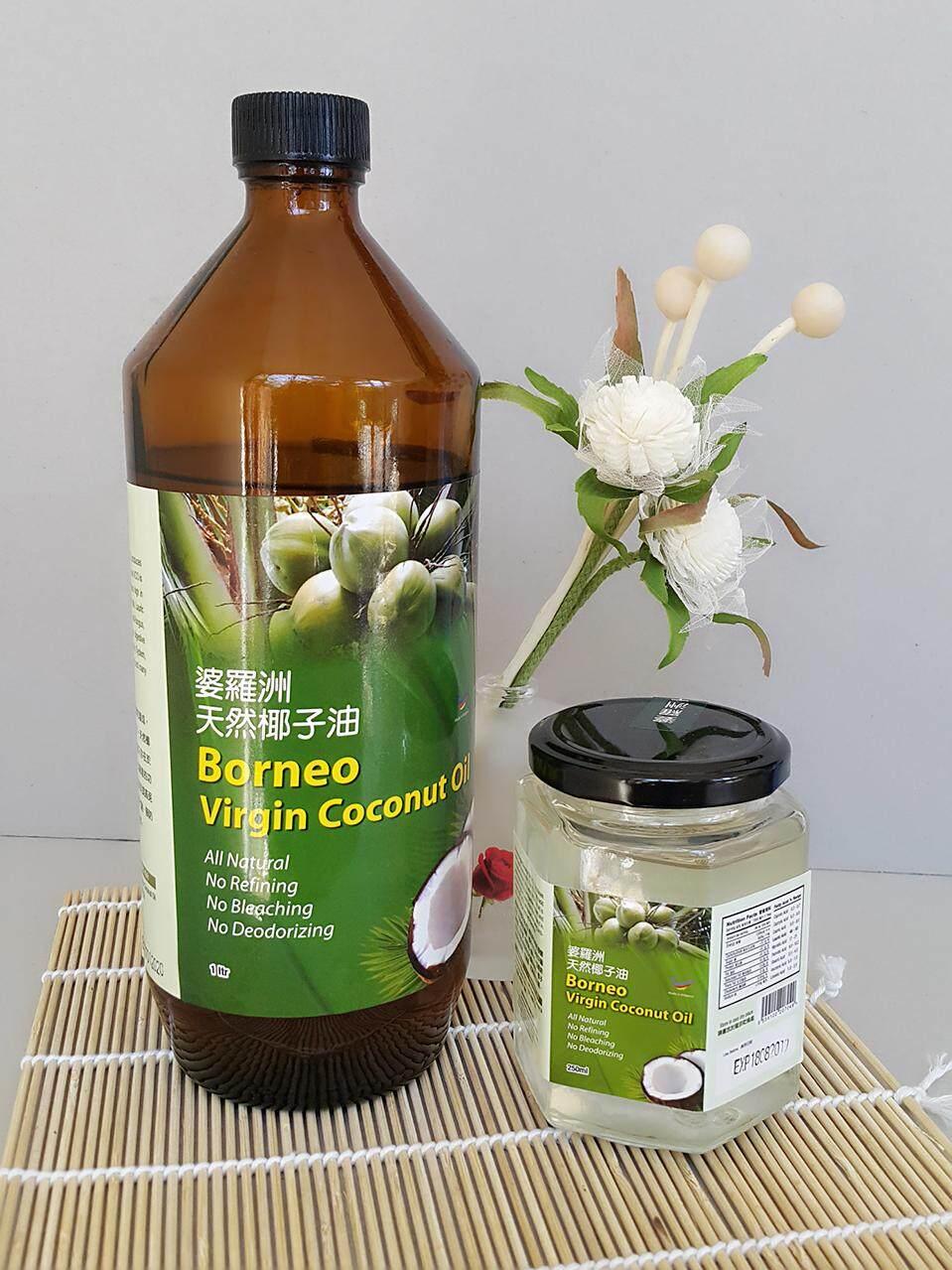 BORNEO NATURAL Borneo Virgin Coconut Oil 500ml