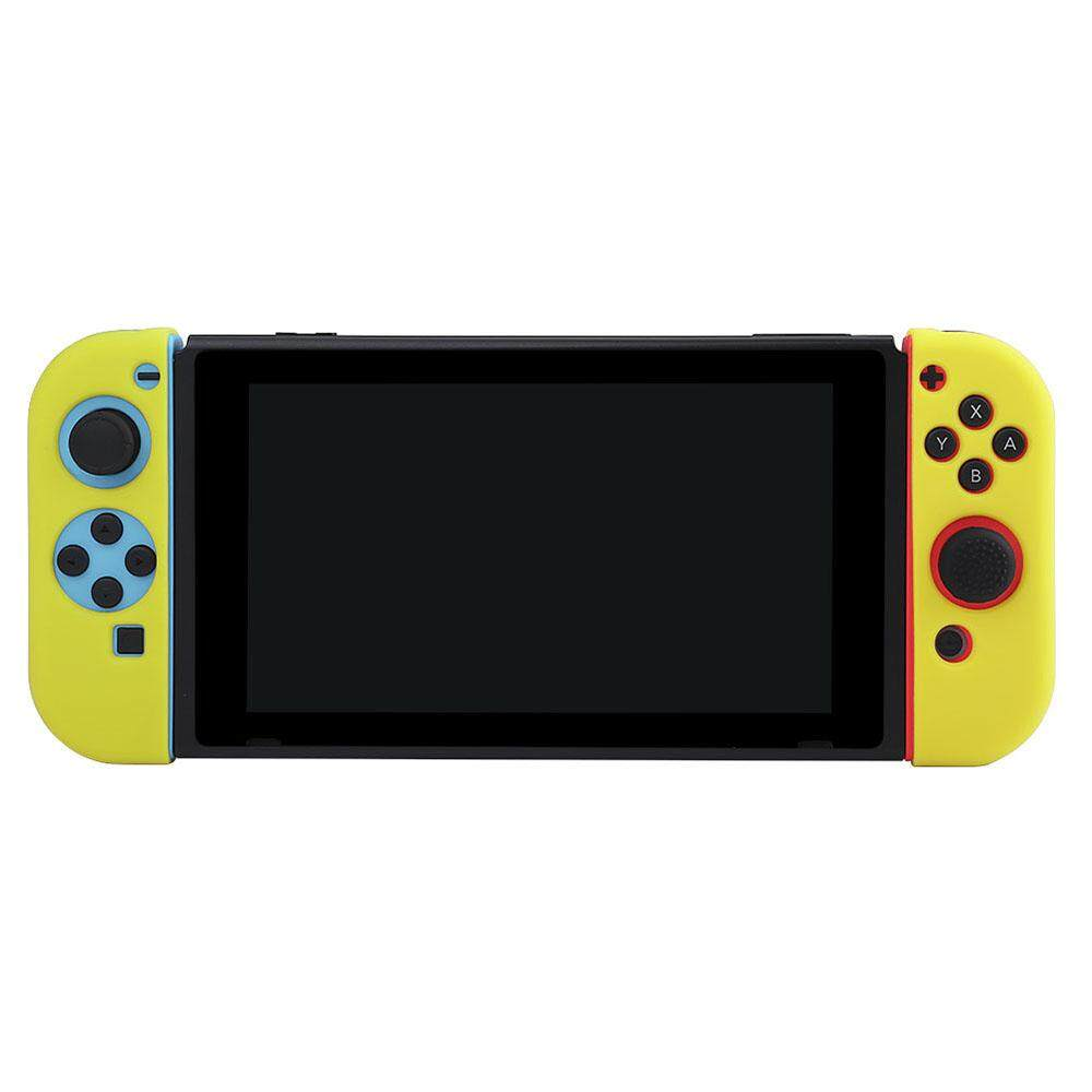 BUBM Game Pad Controller Protective Cover Case for Nintendo Switch Silicone Joy-Con (L/R) Case Soft and Resilient All-round Protection