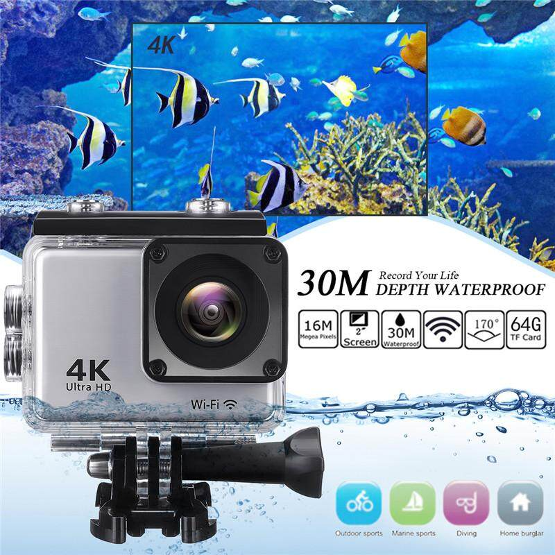 Original 2.0'' WiFi AIR Waterproof Sport DV Action Full HD Camera Touch screen Silver - intl