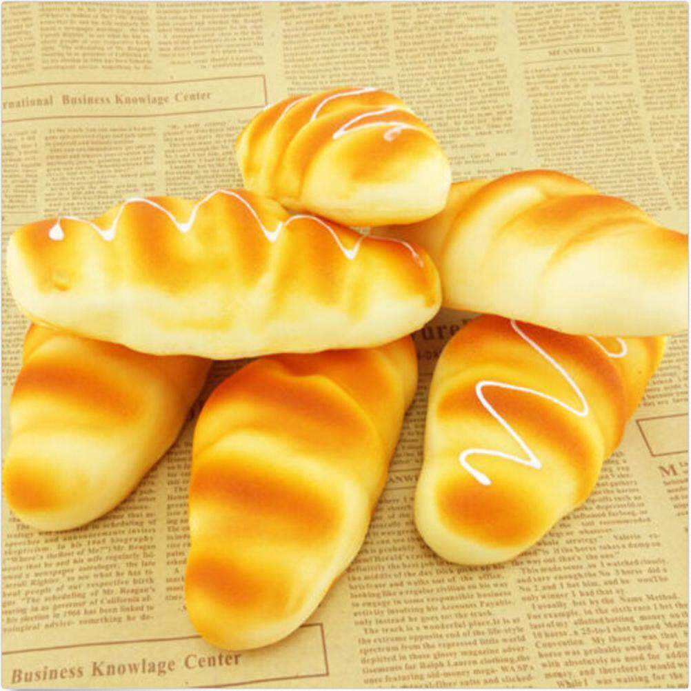 Mobile Phone Accessories Efficient 1pc Bread With Chocolate Kids Girl Kawaii Novelty Toy Cute Charm Phone Straps Super Slow Rising Cake Kids Toys Gift Without Return