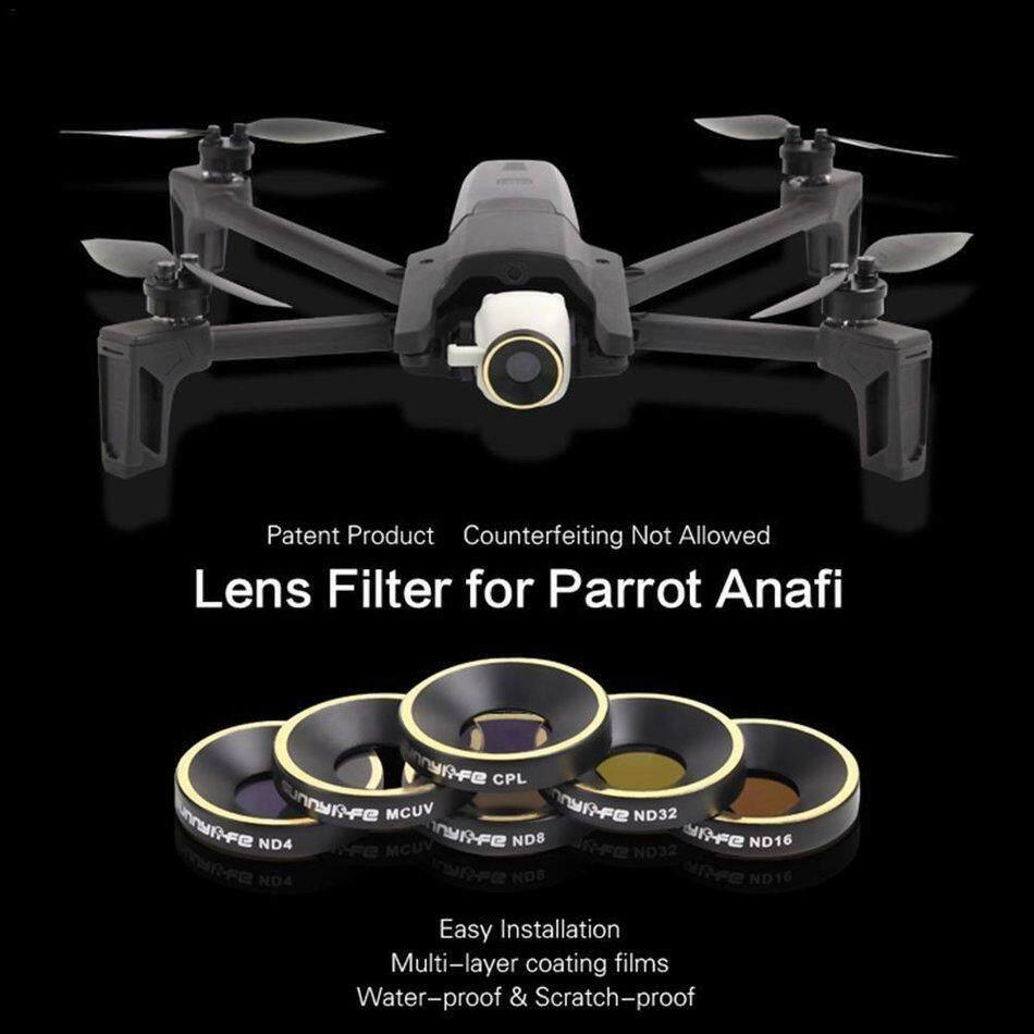TỐT ND4 ND8 ND16 ND32 CPL MCUV Bộ Lọc Ống Kính cho Vẹt ANAFI Drone Gimbal Ống Kính