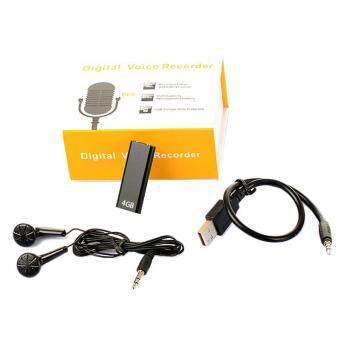 SK892 Digital Audio Recorder Voice Activated 4GB Drive USB Spy Flash