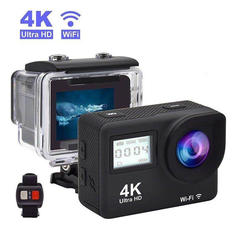 LIFEF S300R Ultra HD 4K WiFi 2.0 inch 140 Degree Wide Angel Underwater Action Camera