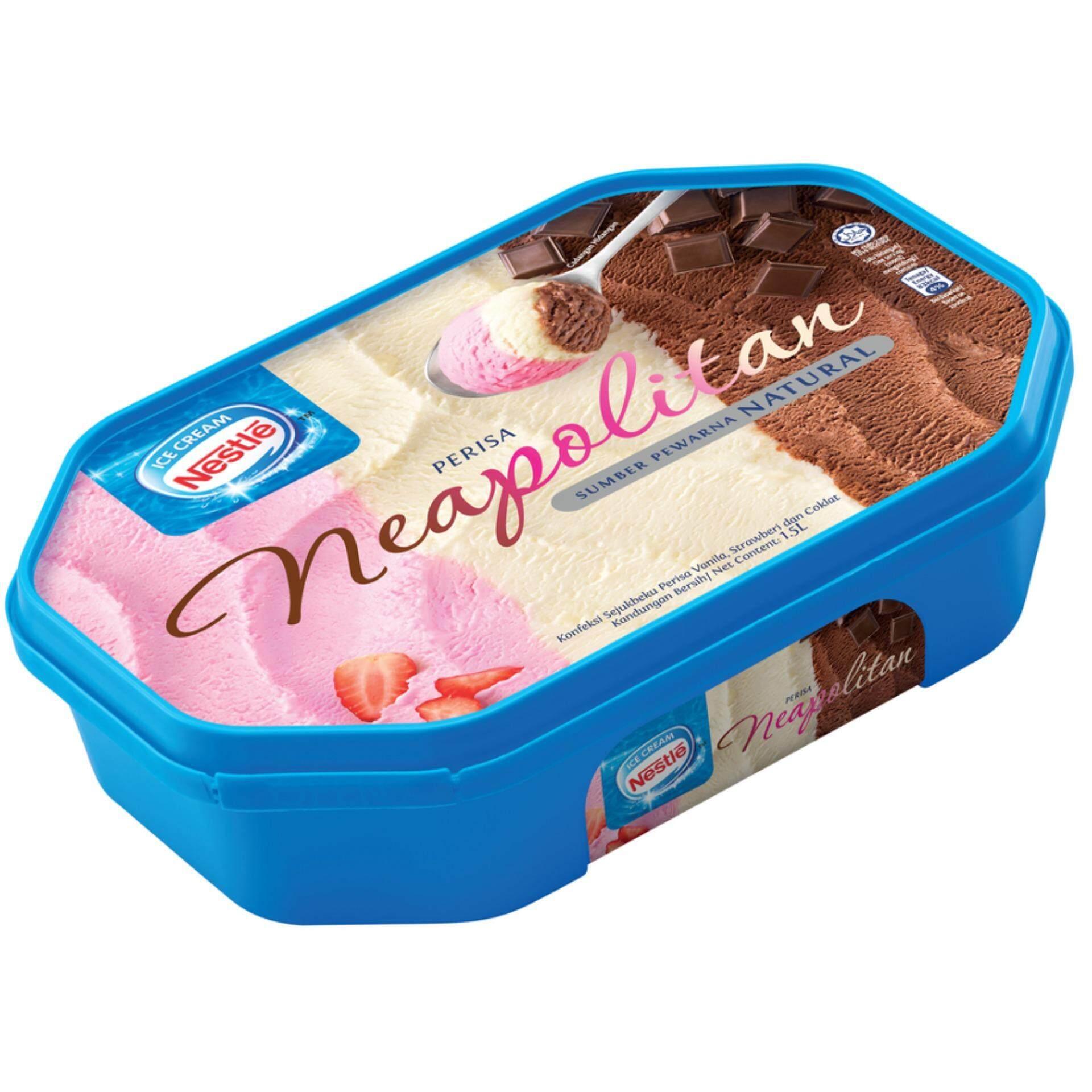 NESTLE Neapolitan Ice Cream ( 1 Tub, 1.5L )