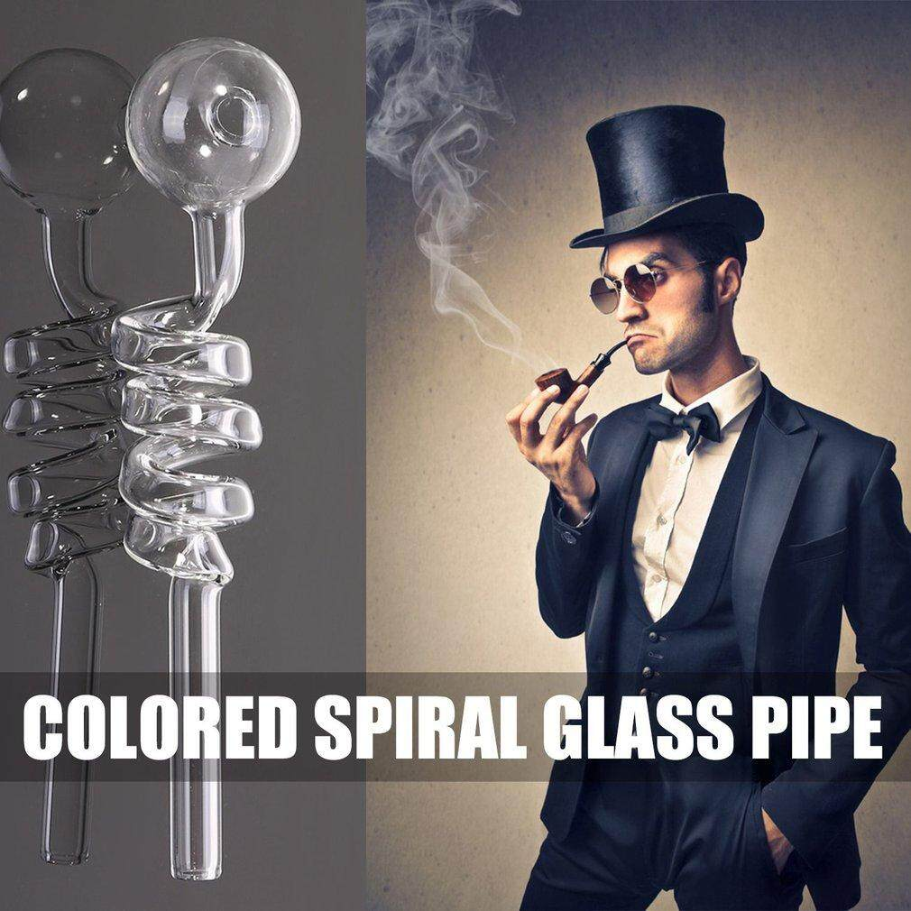 Allwin Colored spiral glass pipe Random Color