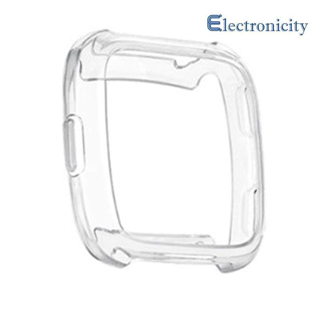 TPU Transparent Shockproof Protective Case Cover Frame   for  Fitbit Versa