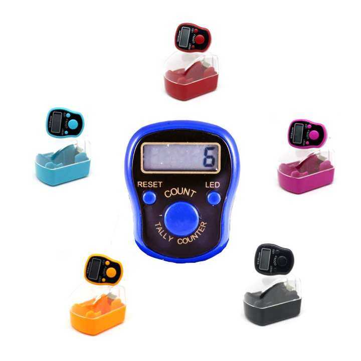 Tasbih Digital With LED / Digital Hand Tally Counter
