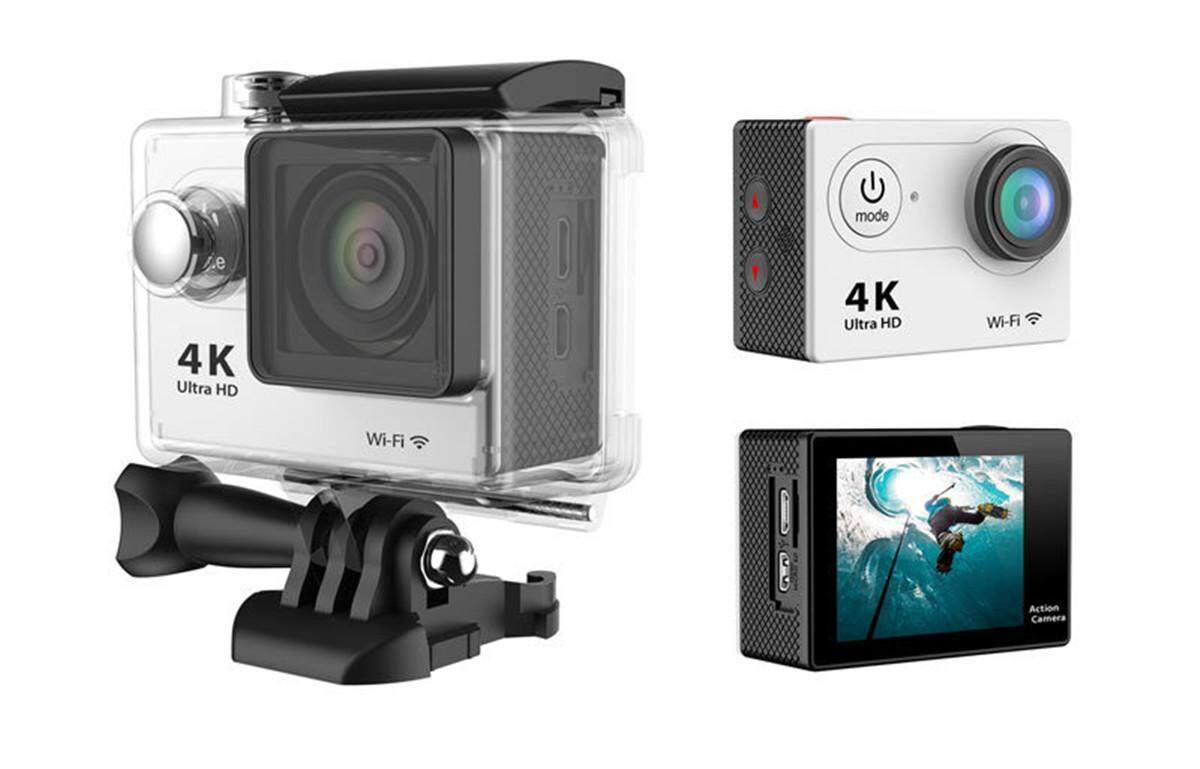 Giá H9 sport DV 4K sports camera WIFI diving outdoor waterproof mini camera Tại D2tech Store
