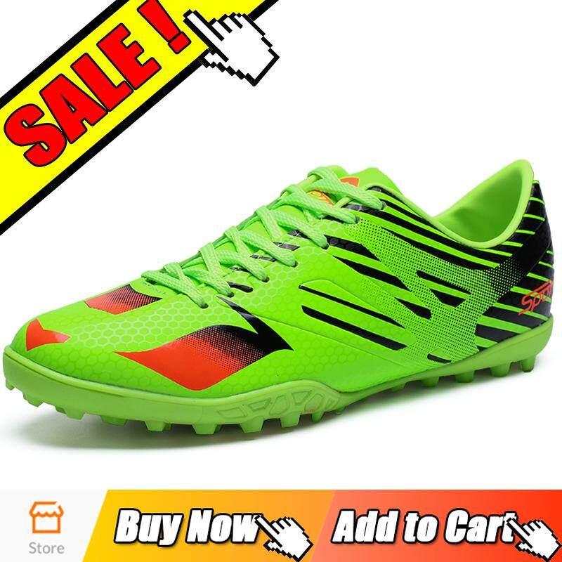 Yealon Sepatu Futsal Pria Sepatu Futsal Sepatu Sepak Bola Pria Sepatu  Berduri Sepatu Sepak Bola untuk 760088e51e