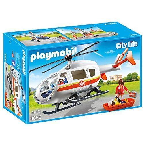 PLAYMOBIL® PLAYMOBIL Emergency Medical Helicopter