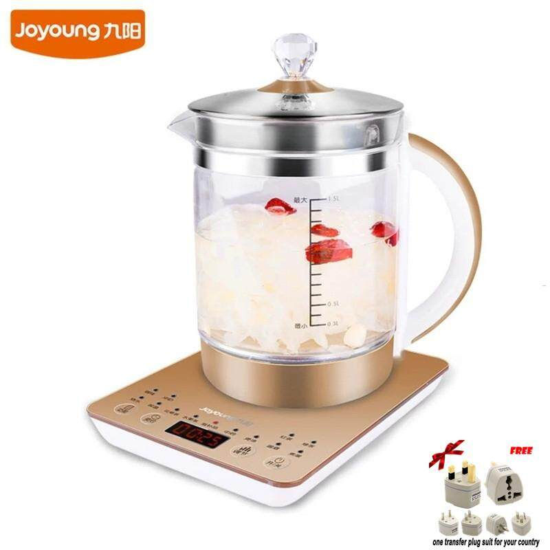 LAHOME Joyoung K15-D03 Health Pot Full Automatic Thick Glass Multifunctional Electric Kettle Boiled Tea Pot