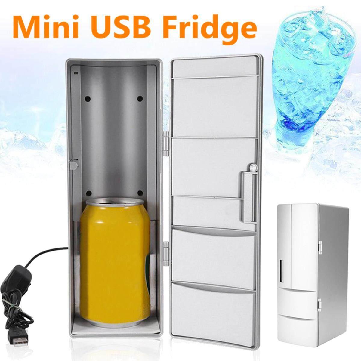 USB di động Mini Tủ Lạnh Tủ lạnh Đồ Uống Uống Có Thể Làm Mát Ấm H