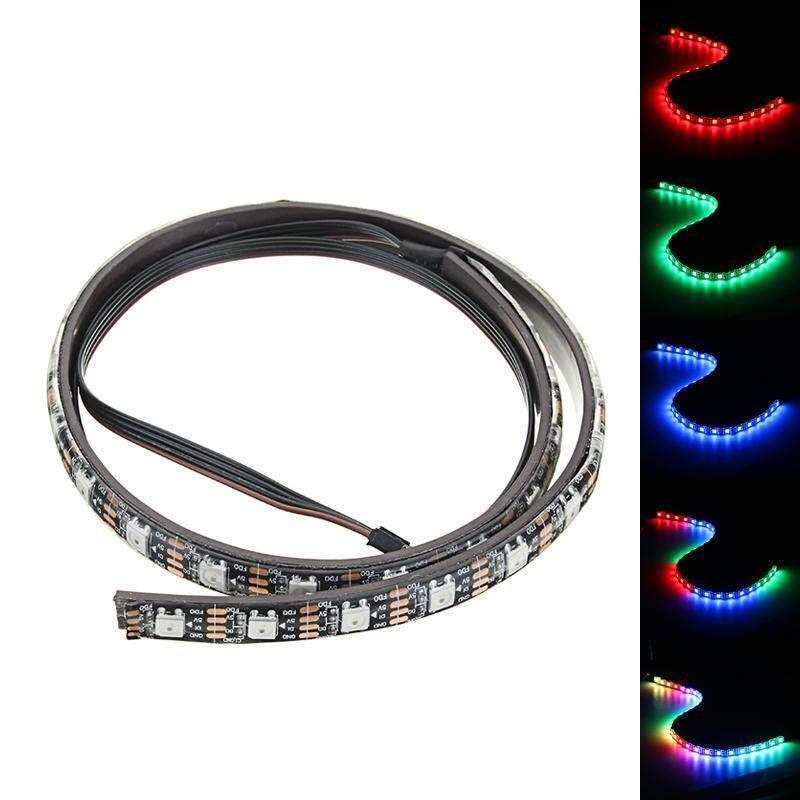 Coolman 50cm Magnetic RGB LED Light Strip with 30pcs LED for Desktop PC Computer Case image on snachetto.com