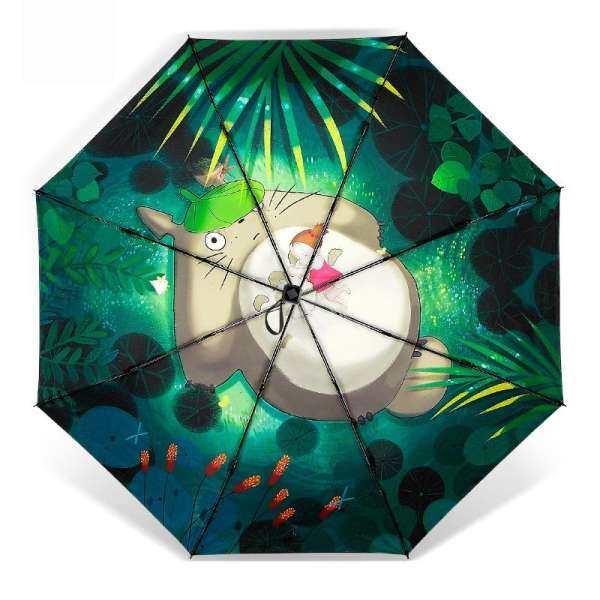 hont The new dragon cat and xiaomei rain umbrella,super prevent bask in,uv - proof black rubber umbrella