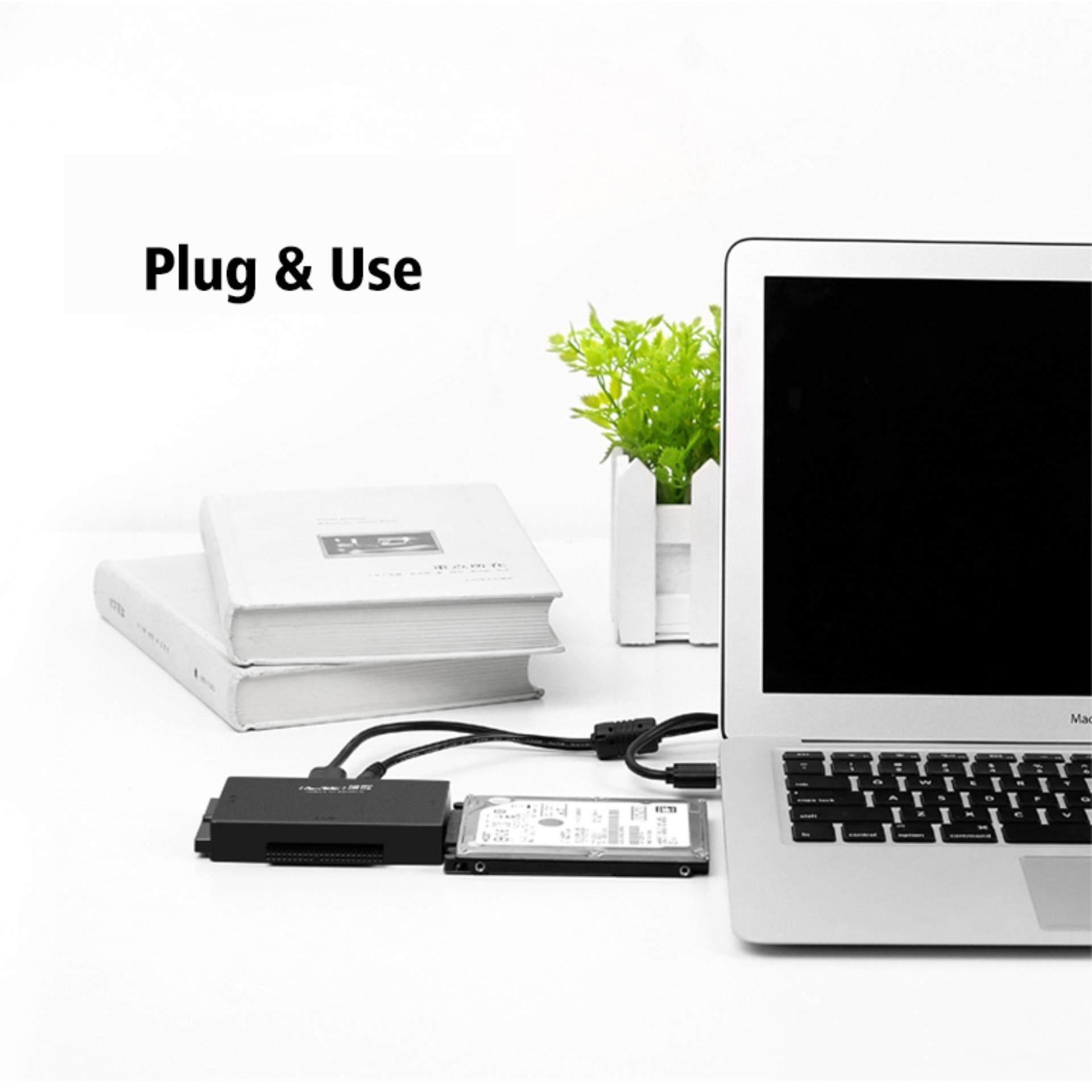 UGREEN 3 Pin UK Plug USB to IDE Converter, USB 3.0 to SATA and IDE