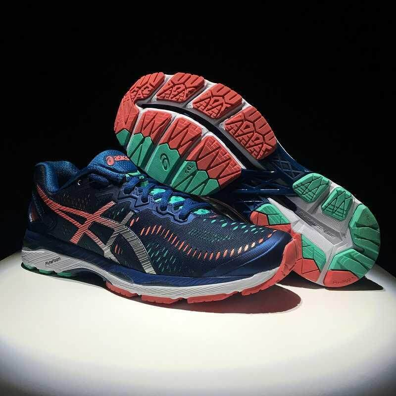 Brand New Asīcs Kayano 23 23 Fashion Gel T646N-5893 23 Breathable Trainers Kayano Men's and Classic Shoes Sneakers Casual Running Shoe Sports Women's Blue/Silver/Pink Gel-Kayano