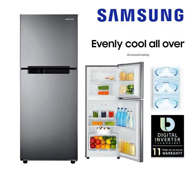 New : Samsung 2 Door Fridge Inverter 203L : RT19M300BGS ( 1+1 Year Extend Warranty )