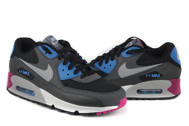 super popular 9b517 700f5 Nike Air Max 90 Essential Men s Running Shoe Lightweight Sneakers  (Black Grey)