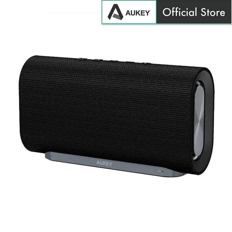 Aukey SK-M30 Eclipse Bluetooth Speaker Enhanced Bass With Dual Passive Radiators