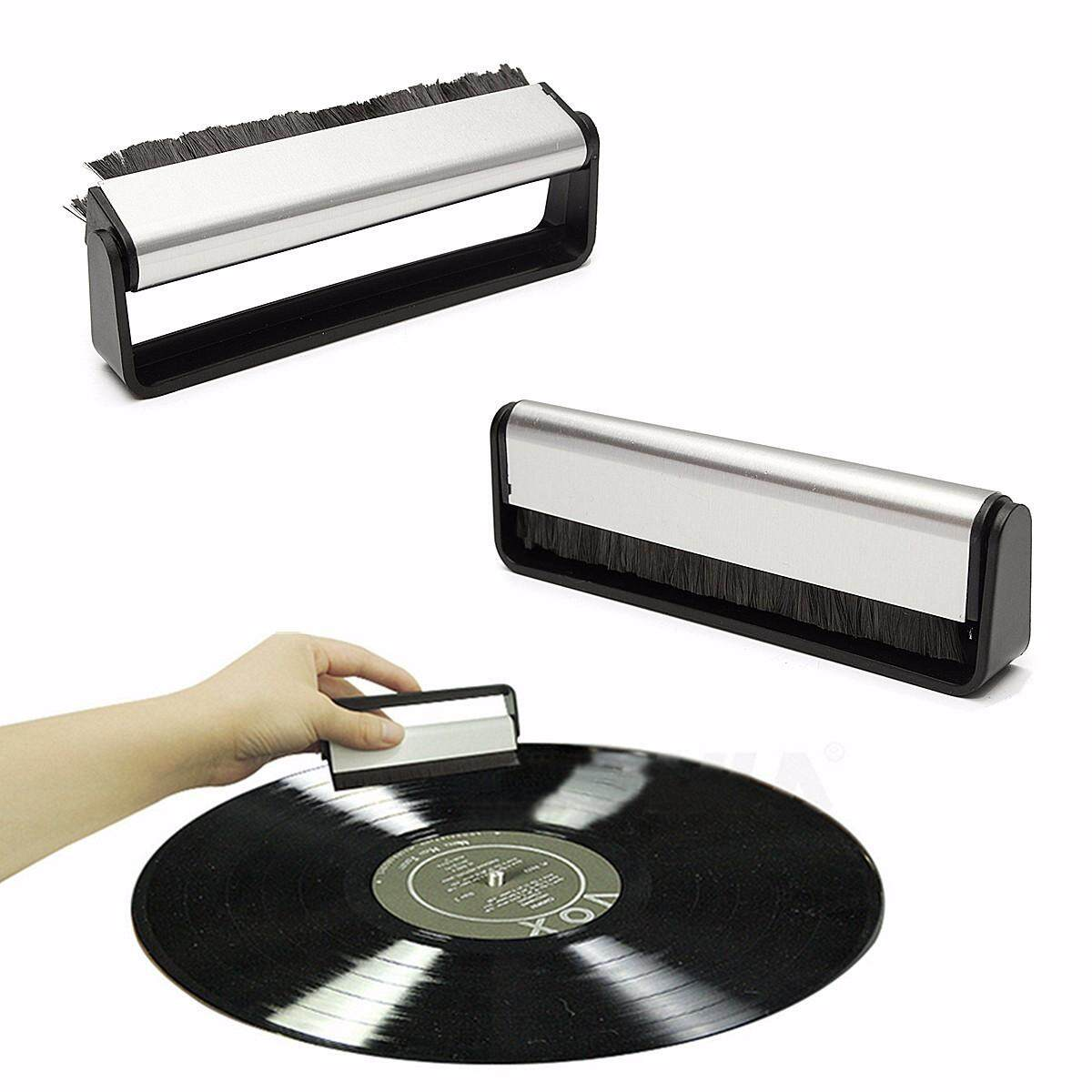 Anti-Static Turntable Needle Cleaning... Record Player Stylus Cleaner Brush