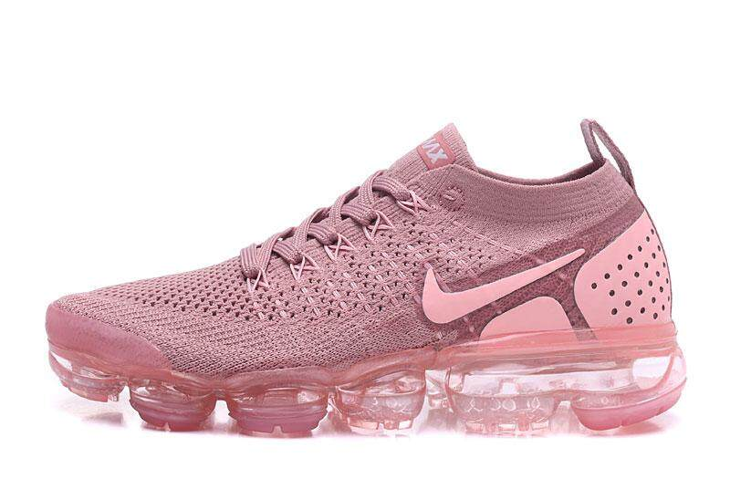 4c0f234fd Hot selling Nike_Air VaporMax Flyknit_V2 Women's Essential Running Shoespink